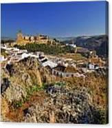 Antequera Alcazaba Canvas Print