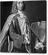 Anthony Askew (1722-1774) Canvas Print
