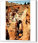 Anthony Howarth Collection - Gold- Re-working Old Mines - S.a. Canvas Print