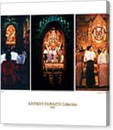Anthony Howarth Collection - Gold - Simply Buddha? Mandalay Canvas Print