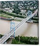 Anthony Wayne Bridge Toledo Ohio Canvas Print