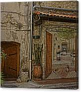 Antibes France Scene Paintings Dsc02278  Canvas Print