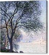 Antibes Seen From The Salis Canvas Print