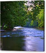 Antietam Creek - Hagerstown Maryland Canvas Print