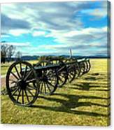 Antietem Battlefield Painting Forsale Canvas Print
