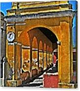 Antigua Arches Canvas Print