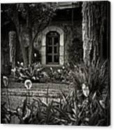 Antigua Garden Canvas Print