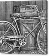 Antiquated Bike Canvas Print