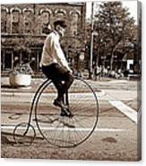 Antique Bicycle Canvas Print