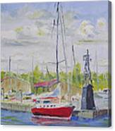 Antique Boat Museum-clayton Ny Canvas Print
