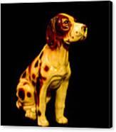 Antique Dog 3 Canvas Print