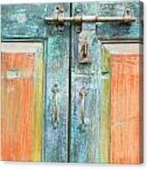 Antique Doors Canvas Print