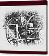 Antique Farm Machine Canvas Print