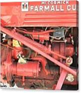 Antique Farmall Cub Engine Canvas Print
