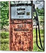 Antique Gas Pump 1 Canvas Print
