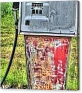 Antique Gas Pump 3 Canvas Print