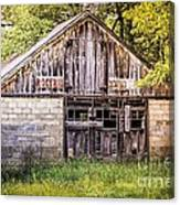 Antique  Grocery Store Canvas Print