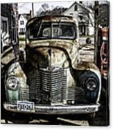 Antique International Pickup Truck Canvas Print