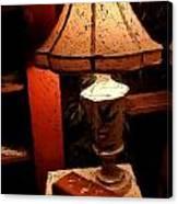 Antique Lamp Canvas Print