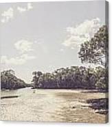 Antique Mangrove Landscape Canvas Print
