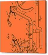 Antique Motorcycle Patent 1921 Canvas Print