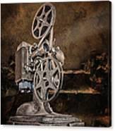 Antique Movie Projector Canvas Print