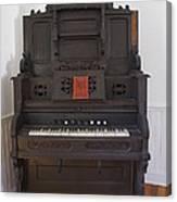 Antique Organ Canvas Print