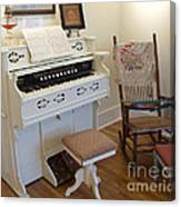 Antique Parlor Organ Canvas Print