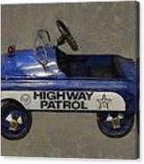 Antique Pedal Car V Canvas Print