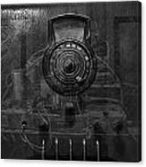 Antique Philco Radio Model 37 116 Bw Merge Canvas Print