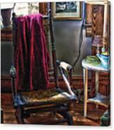 Antique Rocking Chair Canvas Print