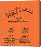 Antique Safety Razor Patent 1912 Canvas Print