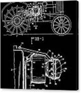 Antique Tractor Patent Canvas Print