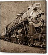 Antique Train Canvas Print