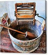 Antique Washing Machine Canvas Print