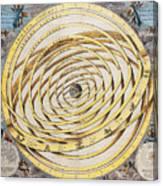 Antique Zodiacal Planetarium Canvas Print