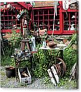 Antiques For Sale Canvas Print