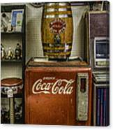 Antiques - Murray's Root Beer And Coca Cola Canvas Print
