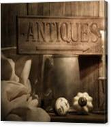 Antiques Still Life Canvas Print