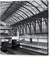 Antwerp Central Station II Canvas Print