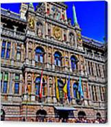 Antwerp's City Hall Canvas Print