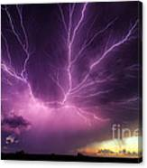 Anvil Crawler Lightning #1 Canvas Print