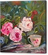 Anyone For Tea? Canvas Print