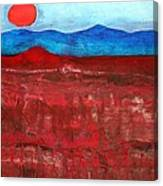 Anza-borrego Vista Original Painting Canvas Print