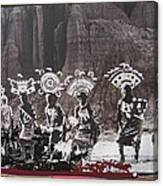Apache Crown Dancers Date And Location Unknown 2013 Canvas Print