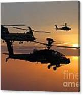 Apache Escort  Canvas Print