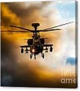 Apache Hunter  Canvas Print