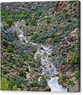 Apache Trail River View Canvas Print
