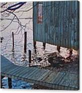 Apalachacola Fish House Canvas Print