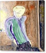 Apartment # 5 Canvas Print